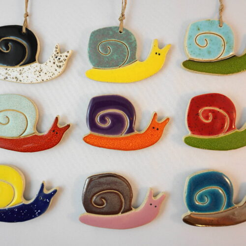 snail magnet/pendant