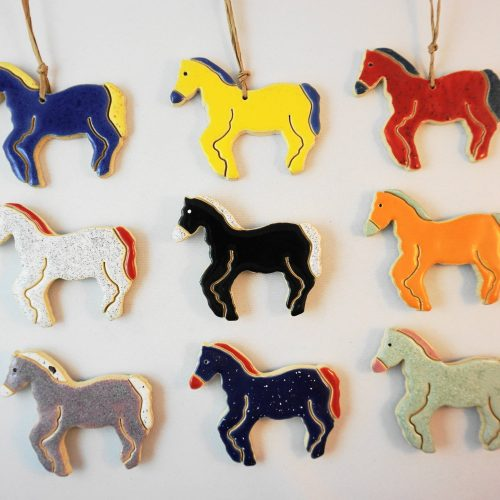 horse magnet/pendant