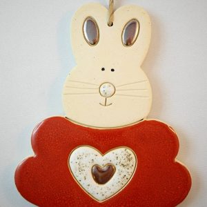 Easter bunny h.14cm