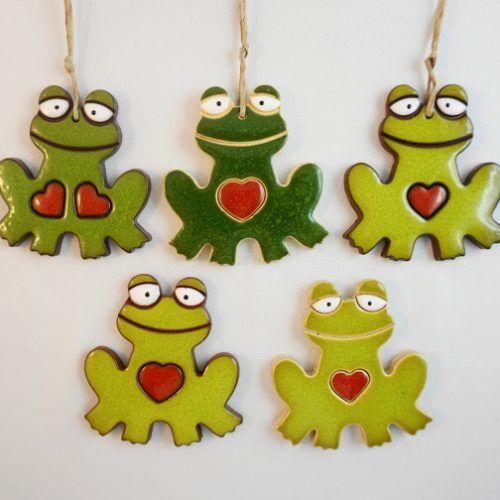 magnes/zawieszka żaba