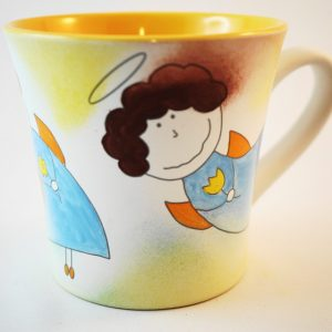 angels, mug with a picture