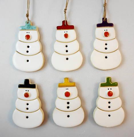snowman magnet/pendant