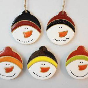 Snowman 2 magnet/pendant