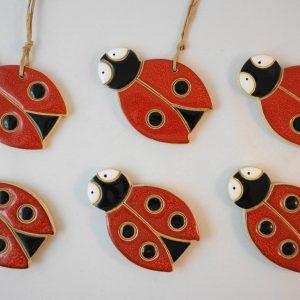 Ladybug magnet/pendant