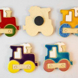 choo-choo train magnet