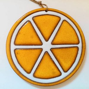 lemon pendant, h. 15cm