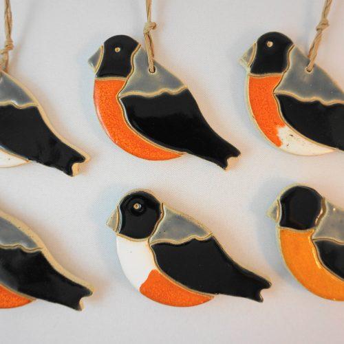 bullfinch magnet/pendant