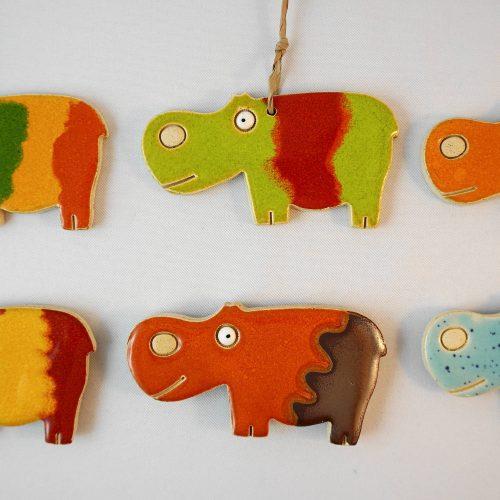 hippo magnet/pendant