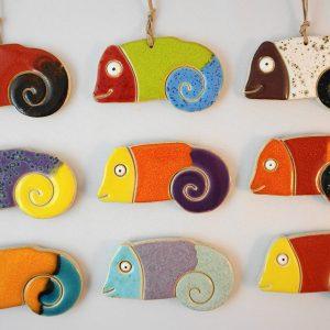 chameleon magnet/pendant