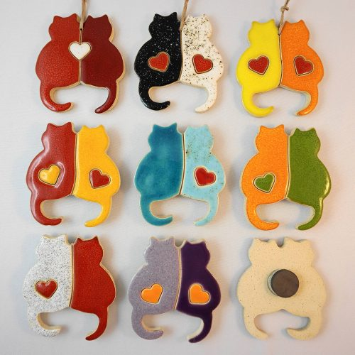 cats lovers magnet/pendant