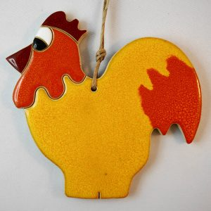rooster,lenght.13,5cm