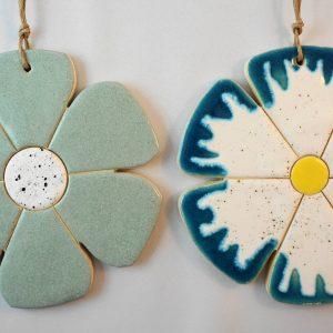 flower pendant, lenght.15cm