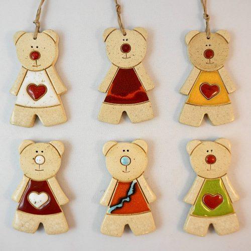 Teddy bear magnet/pendant