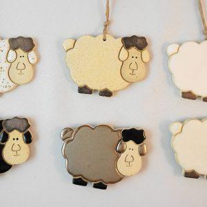 sheep magnet/pendant