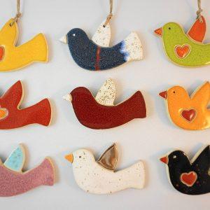 bird 2 magnet/pendant