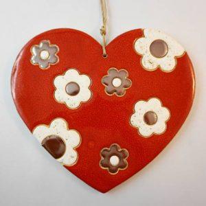 heart C pendant, lenght 17cm