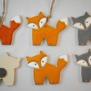 fox magnet/pendant