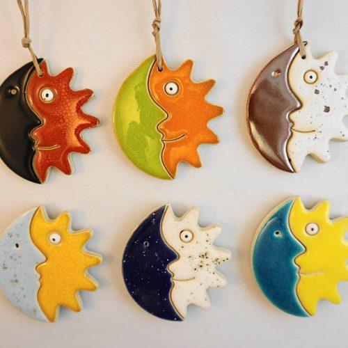 sun/moon magnet/pendant