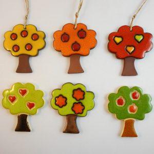 magnet/small pendant - tree