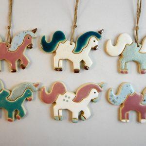 magnet/small pendant - unicorn