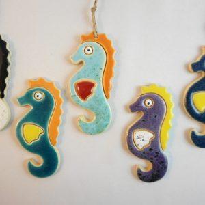 magnet/small pendant - seahorse